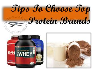 Tips To Choose Top Protein Brand