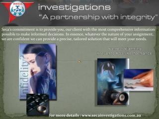 Private investigators