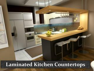 Laminated Kitchen Countertops