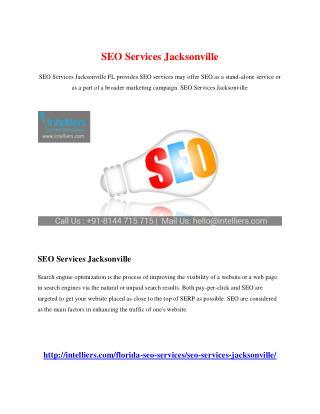 SEO Services Jacksonville