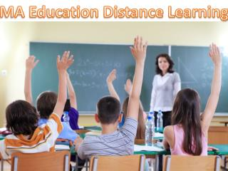 MA Education Distance Learning Education Courses Admission-Teachers day