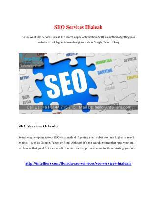 SEO Services Hialeah