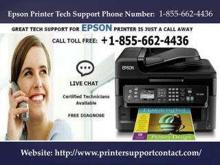 Epson Printer Tech Support Phone Number 1-855-662-4436