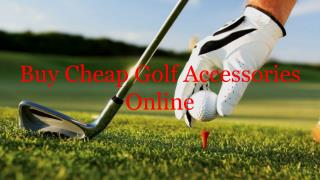 Buy Cheap Golf Accessories Online