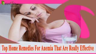 Top Home Remedies For Anemia That Are Really Effective
