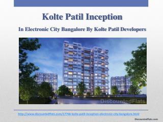 Kolte Patil Inception Lavish Flats at Electronic City, Bangalore