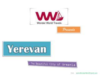 Yerevan city of Armenia