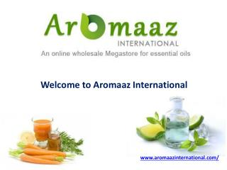 Best Quality of Floral Absolute Oils at Aromaaz International!!