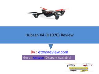 Hubsan X4 H107C Review - Best RC Quadcopter
