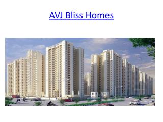 AVJ Group- Avj Bliss Homes In Indirapuram  Ghaziabad