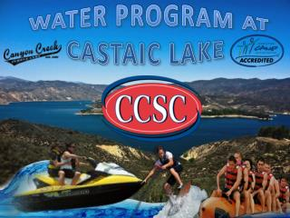 Water Activities at Canyon Creek Summer Camp