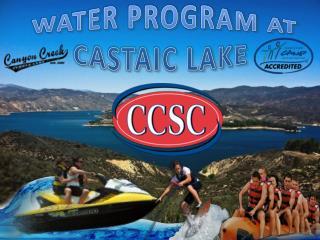 Water Activities at Canyon Creek Summer Camp