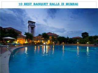 10 Best Banquet halls in Mumbai
