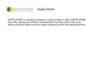 Gupta Stone