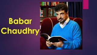 Babar chaudhry