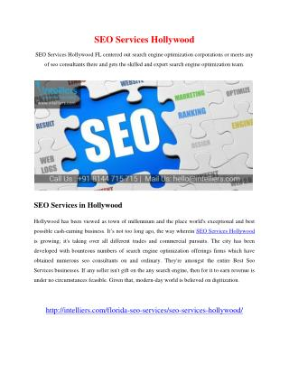 SEO Services Hollywood