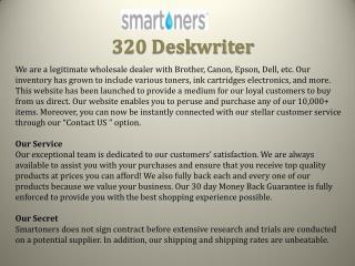 320 Deskwriter