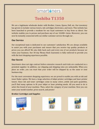 Toshiba T1350