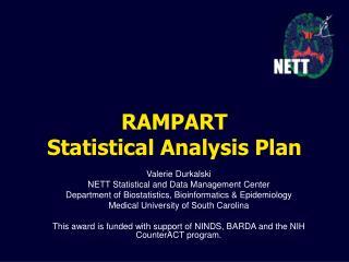 RAMPART Statistical Analysis Plan