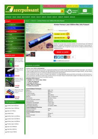 Puntero laser 5000mw