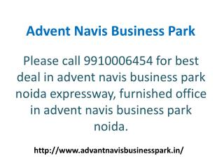 Office Space For Rent In Advent Navis Business Park