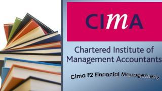 Cima F2 Study Material
