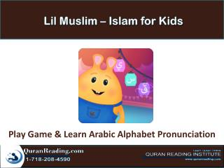 Lil Muslim - Islam for Kids