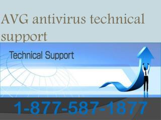 AVG antivirus technical support 1-877-587-1877 phone number |USA
