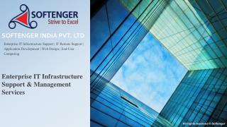 Enterprise IT infrastructure support services Pune