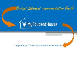 Shared Student Accommodation in Adelaide