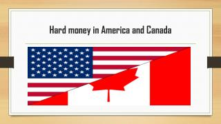 Hard money in USA and Canada