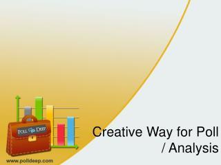 Create online questionnaire software - PollDeep
