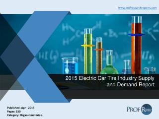 Electric Car Tire Industry Growth, Market Demand and Supply 2015 | Prof Research Reports