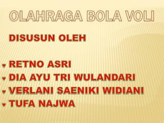 OLAH RAGA BOLA VOLLY