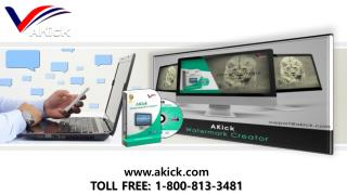 AKick - Download Top Class Free  Watermark Creator Software