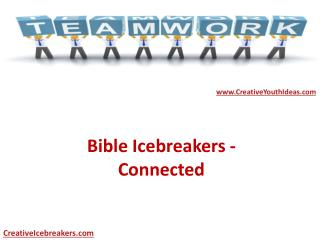 Bible Icebreakers - Connected