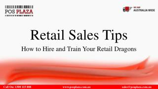Retail Sales Tips: How to Hire and Train Your Retail Dragons