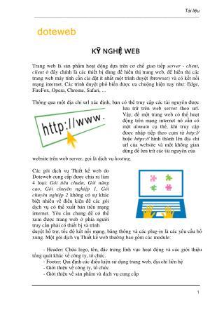 Kỹ Thuật Web