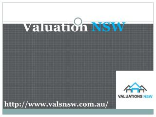 Acquire Various Valuation Services with Valuations NSW