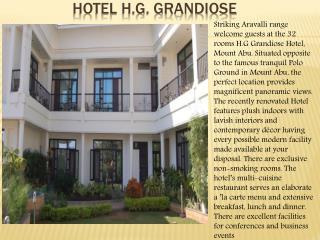 Hotel h.g. Grandiose