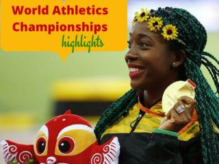 World Athletics Championships highlights