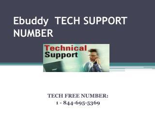 1 844 695 5369 Ebuddy Customer Support Number