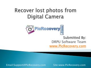 How to recover lost photos from Digital Camera