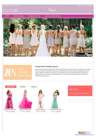 dressesplaza.com home page