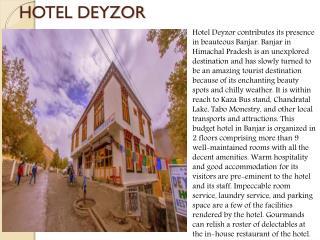 Hotel Deyzor