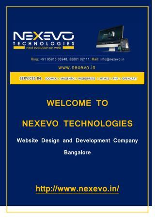 Web Designing Agency Bangalore