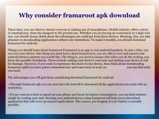 Download framaroot for android for Greater Android Experience