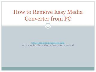 Easy Media Converter