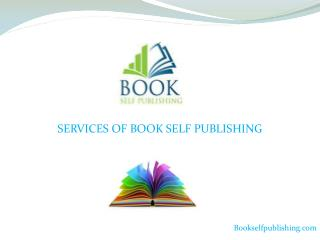 Services Of Book Self Publishing