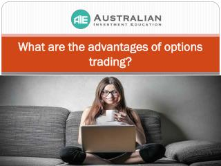 What are the advantages of options trading